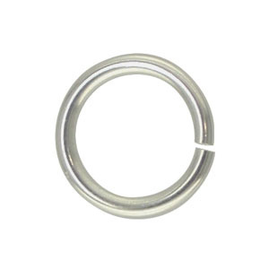 Jump ring Silver Plated 7mm