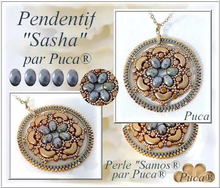"""Gratis """"Sasha Hanger"""" Patroon bij aankoop van 2 zakjes PAR PUCA® kralen"""