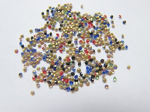 Puntstenen mix 2.8x1.9 mm SS10