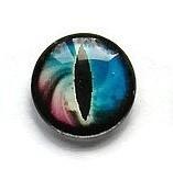 Dragon Eye 003, 18mm Glas Cabochon Rond