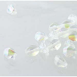 Pinch Bead Crystal AB per streng