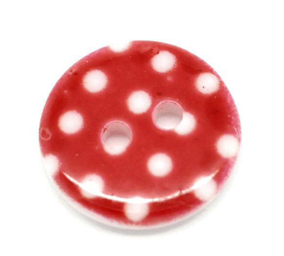 Knoop Resin  Rood Dots