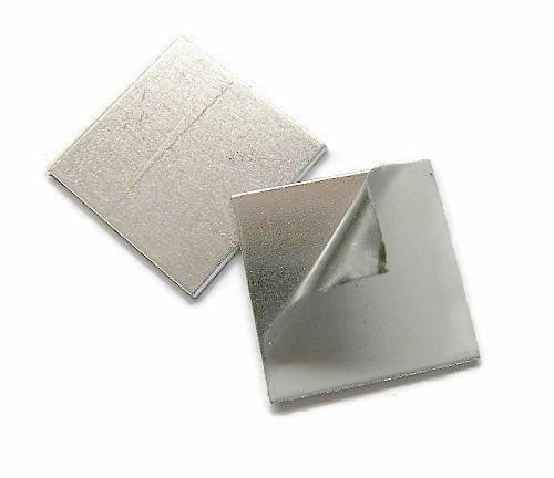 Tag vierkant aluminium 25x25 mm