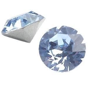 Swarovski Elements SS39 puntsteen (8mm) Light Sapphire