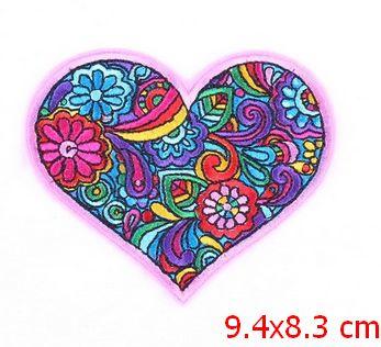 Applicatie Flower Power Heart