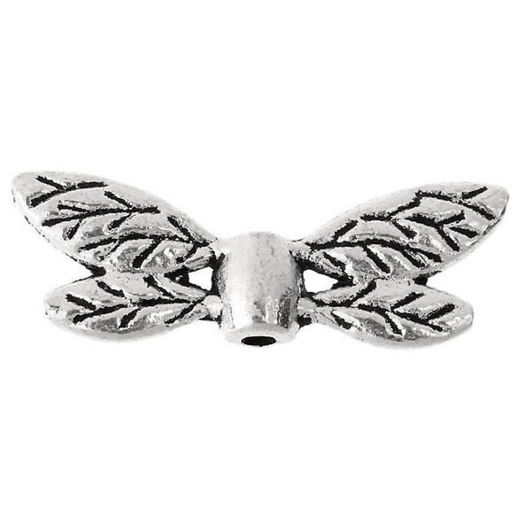 Libelle vleugels zilverkleur