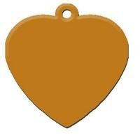 Heart Orange aluminium