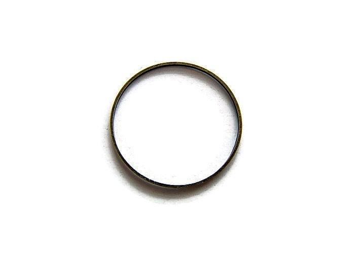 Ring 3 cm diameter BRONSKLEURIG