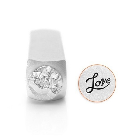 Design Stempel Love Fancy Script 6mm ImpressArt
