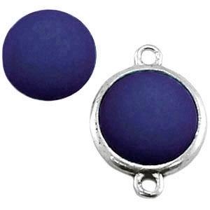 Cabochon Polaris matt 20 mm Montana blauw