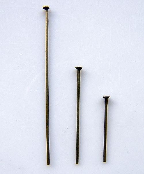 Nietstift brons 30mm