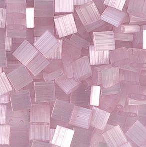 TL-2551 Miyuki TILA Pink Silk Satin 5x5mm