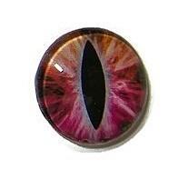 Dragon Eye 020, 25mm Glas Cabochon Rond