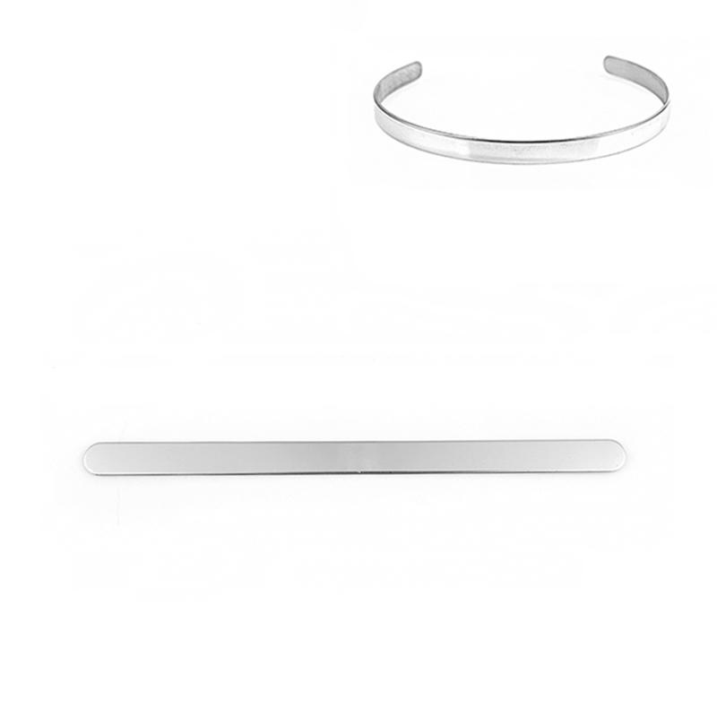 RVS Armband strip 160 x 10 x 1mm