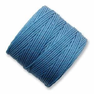 S-LON BEAD CORD (CARIBBEAN) CAROLINA BLUE