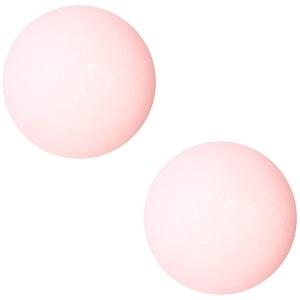 Cabochon Polaris matt 20 mm Pastel paparacha roze