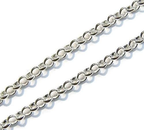 Jasseron Silver Plated ronde schakel