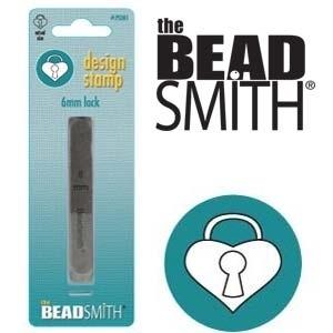 Design stempel Heart Lock 6mm