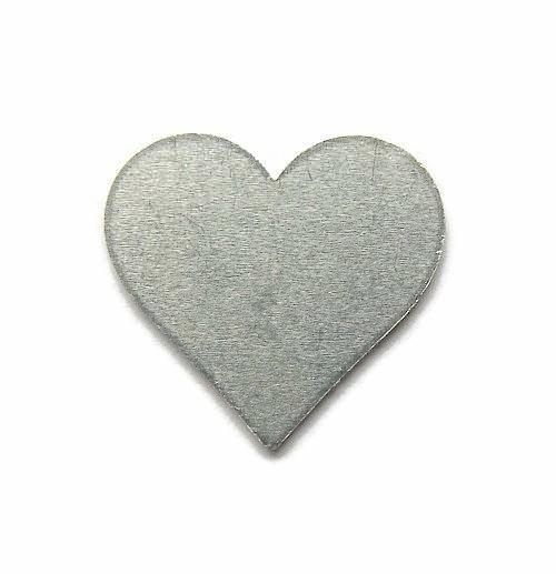 Tag Hart aluminium 20x19mm