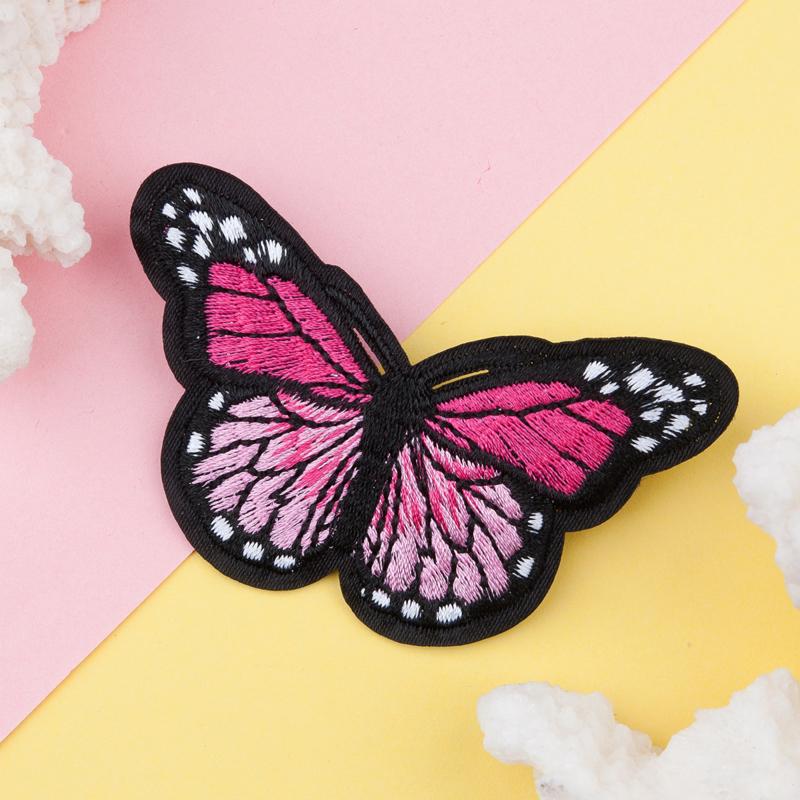 Applicatie Vlinder Roze MET SPELD