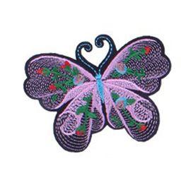Applicatie Vlinder Lila Roze