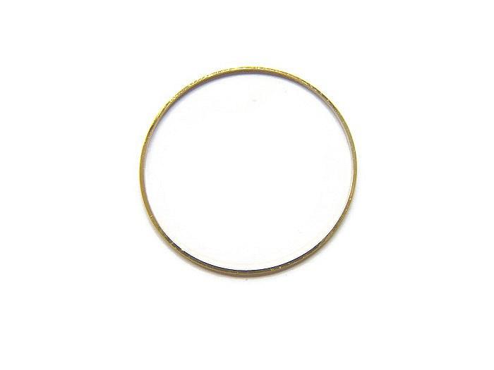 Ring 4 cm diameter GOUDKLEURIG