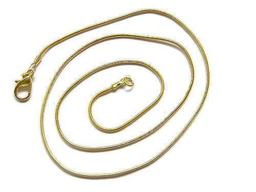 GROOTVERPAKKING 10 Stuks Snake Chain Ketting Gold Plated