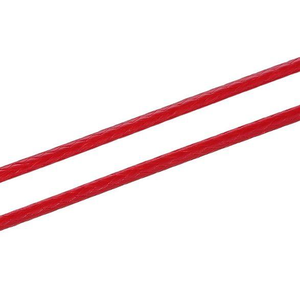 Koreaans Polyester Waxkoord Rood 1mm