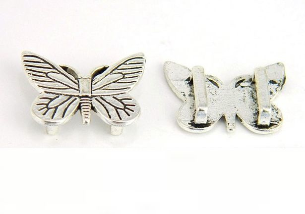 Schuif Kraal Butterfly voor 10mm plat leer