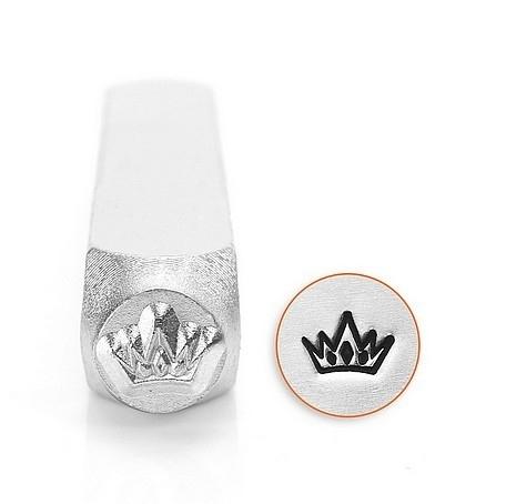 Design stempel Crown 6mm ImpressArt