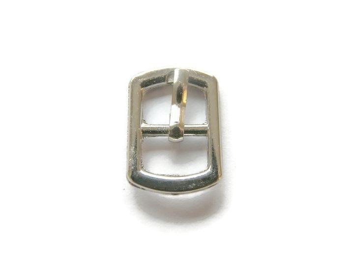 Gesp voor 6mm leer zilverkleur