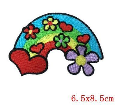 Applicatie Regenboog Flower Power