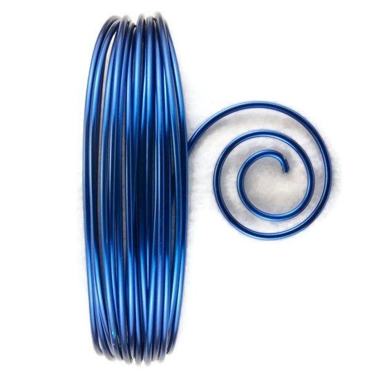 AluDeco Wire 2mm Royal Blue Round (5m)