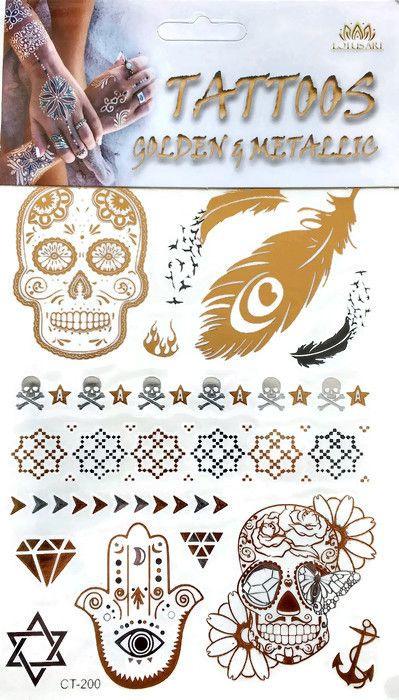 Metallic Tattoo's  CT-200