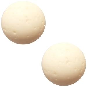 Cabochon Polaris polarino matt 12 mm Silk beige