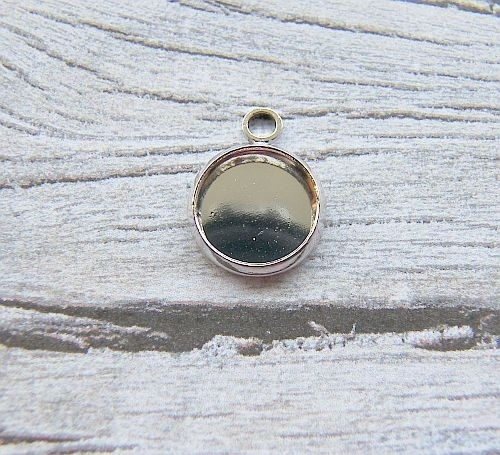 Cabochon hanger rond voor 10mm cabochon
