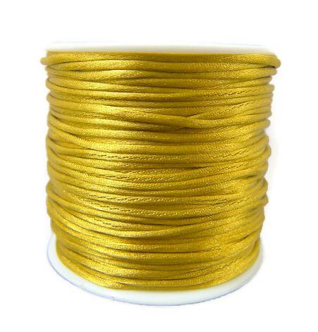 Satijnkoord Gold 1mm dik