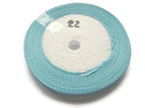 No.22 Baby Blauw Satijnlint 6mm (per rol)