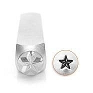Design stempel Nautical Star 6mm ImpressArt