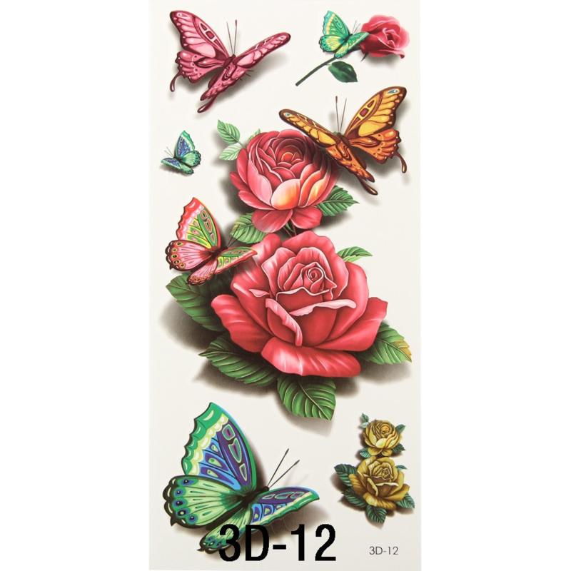 Tattoo's  3D-12