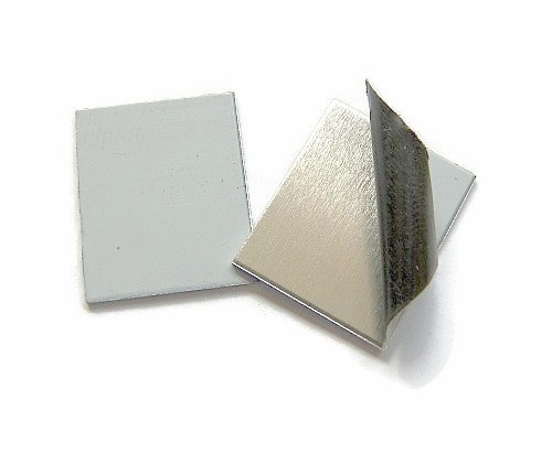 Tag Rechthoek aluminium 20x25 mm