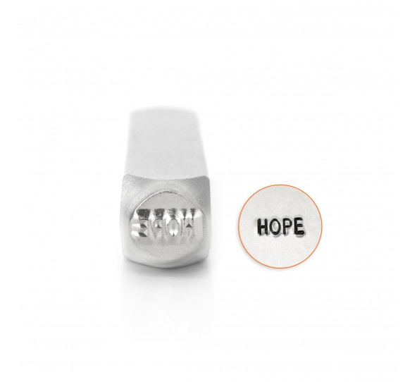 "Design stempel ""Hope""  6mm ImpressArt"