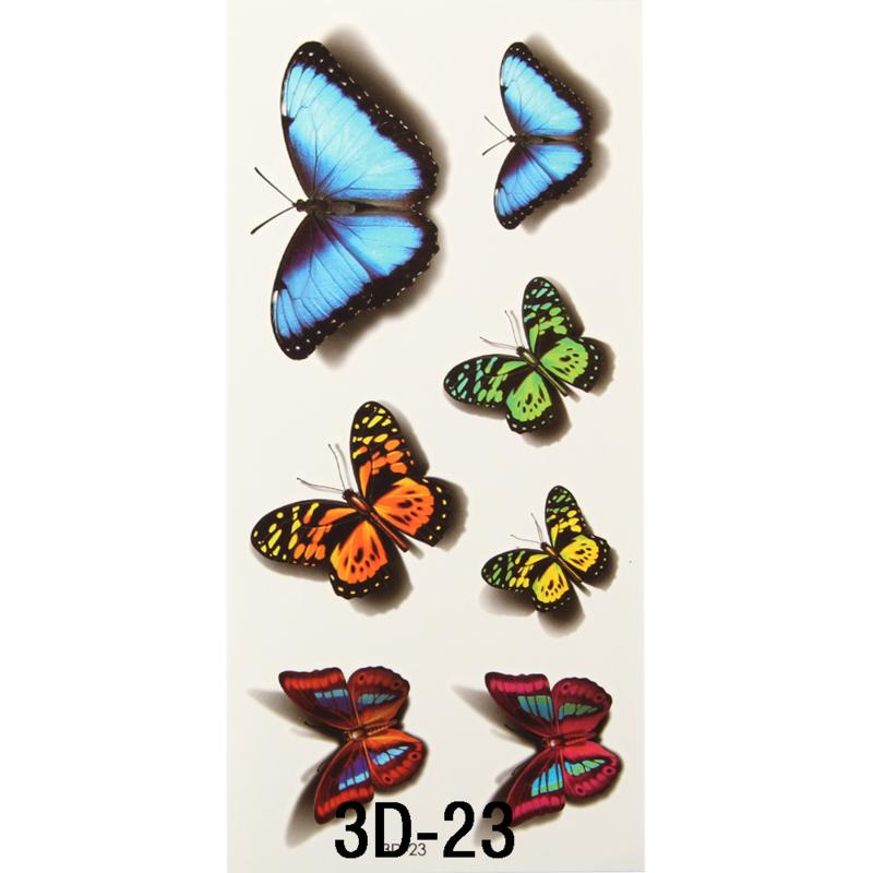 Tattoo's  3D-23