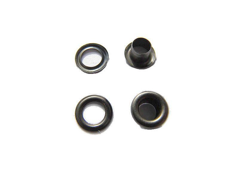 Nestel rond Antraciet 5mm (10 st.)