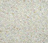 15-250 Miyuki Transparant AB Crystal 15/0