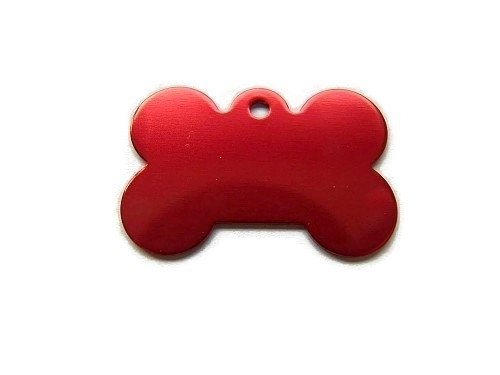Dog Bone Red aluminium