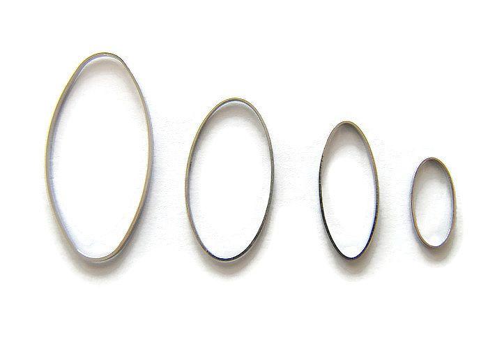 Ring OVAAL 3x1.5 cm