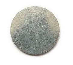 Tag rond aluminium 32mm (1,3mm dik)