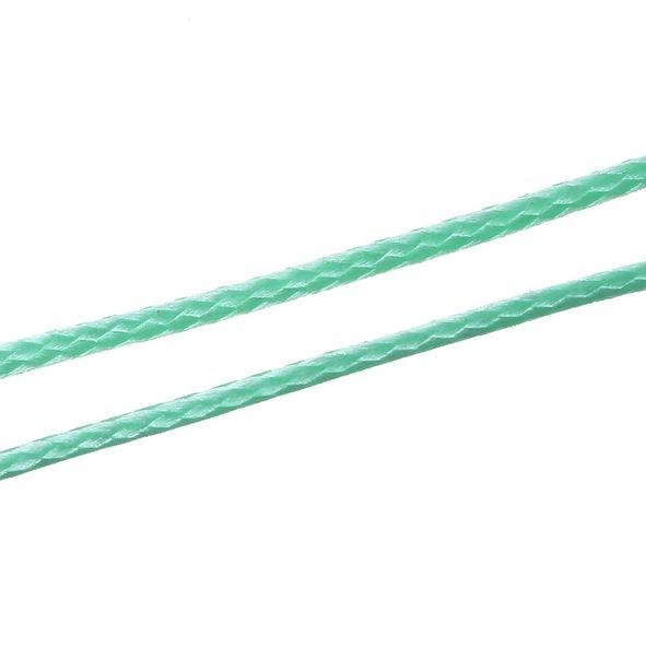 Koreaans Polyester Waxkoord Turquoise Groen 1,5mm