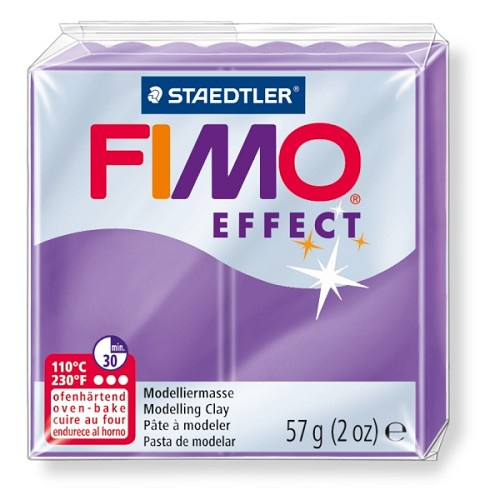 Fimo Effect  Transparant Lila Paars  No.604